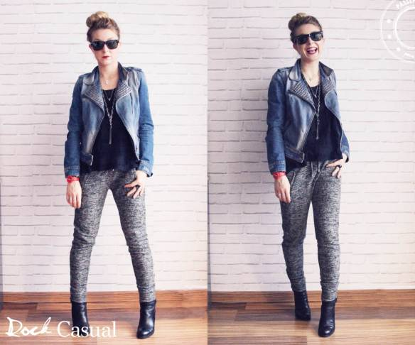 Look rock casual